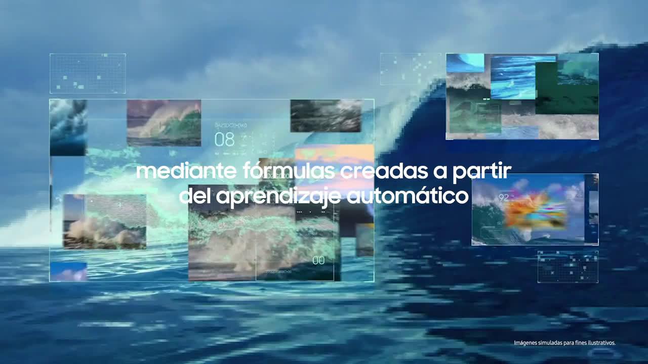 Samsung #QLED8K | Inteligencia Artificial 8K anuncio