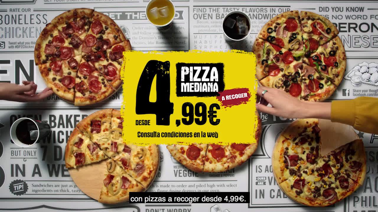 Domino´s Pizza Megaweek Hipnosis  anuncio