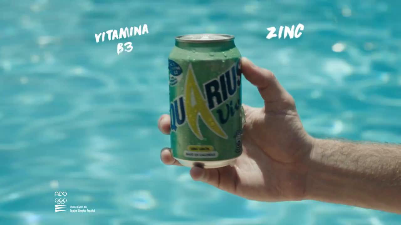 Aquarius Vive, la bebida para Vivos Vivientes anuncio