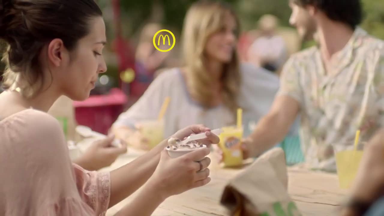 McDonald Ya están los sabores de verano anuncio