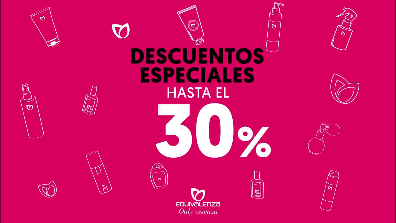 Equivalenza Descuentos especiales hasta el 30%: disfruta del verano anuncio