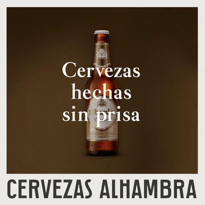 Cervezas Alhambra Especial Cervezas Hechas Sin Prisa anuncio