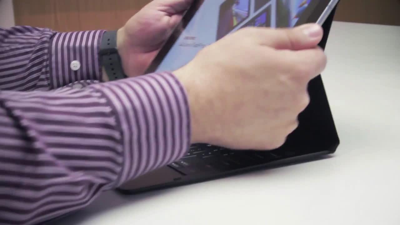 Samsung Hands on en castellano Samsung Galaxy TabPro S anuncio