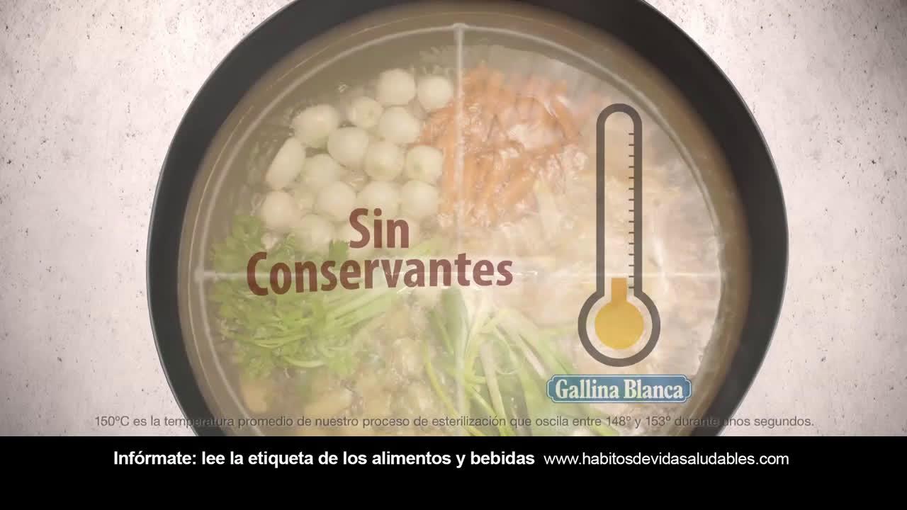 Gallina Blanca Caldo Casero con Karlos Arguiñano anuncio