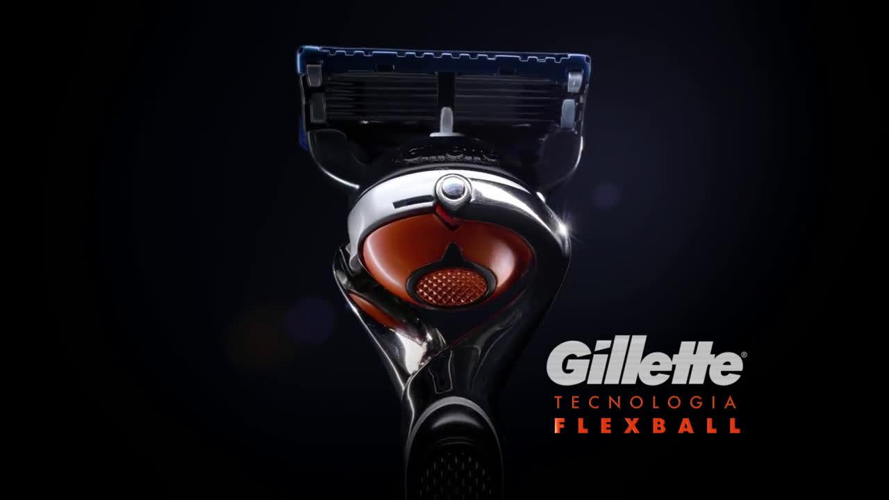 Gillette TECNOLOGÍA FLEXBALL - CARAS anuncio