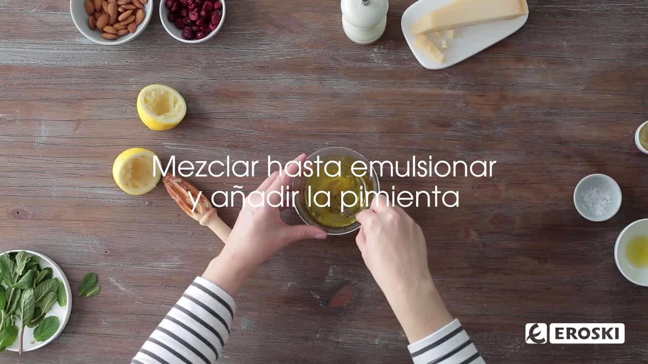 Eroski Ensalada de brócoli con quinoa anuncio