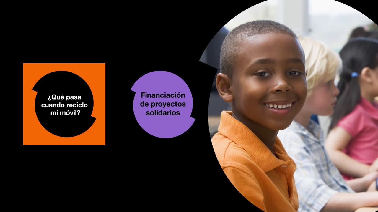 Orange Reciclaje de móviles: 1 móvil 1 árbol anuncio