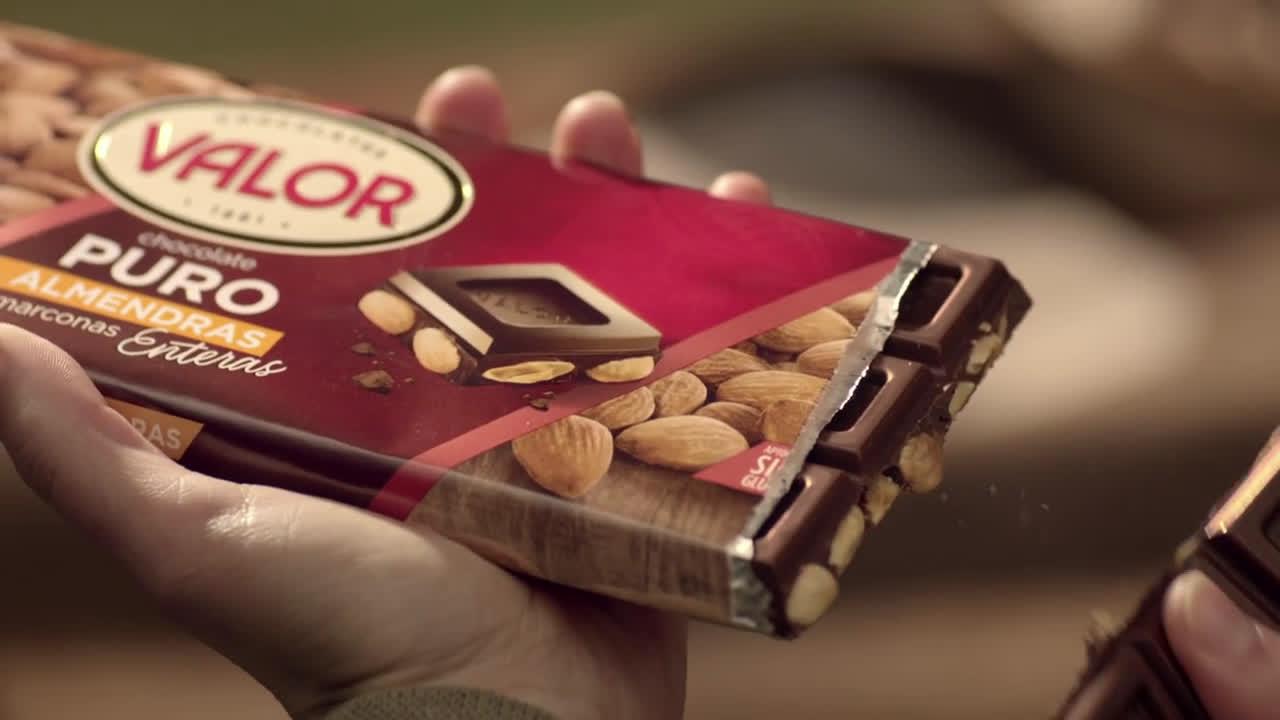Chocolates Valor Gama Tradicional anuncio