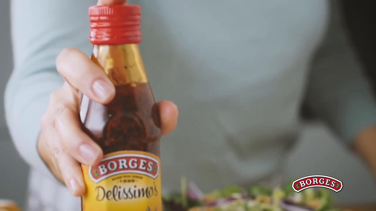 Borges Vinagretas Delissimo's anuncio