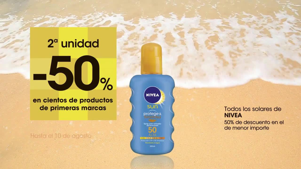 Eroski 2ª ud. al 50% en cientos de productos anuncio