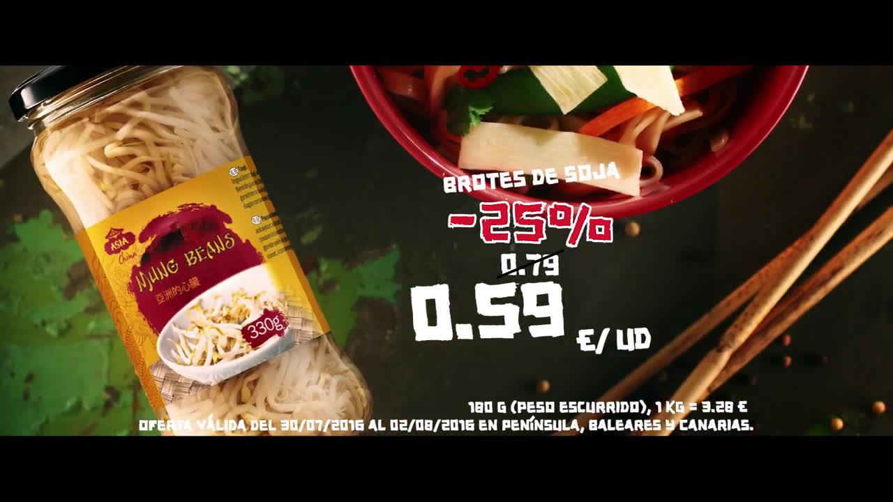 LIDL La Gran Semana Asiática anuncio