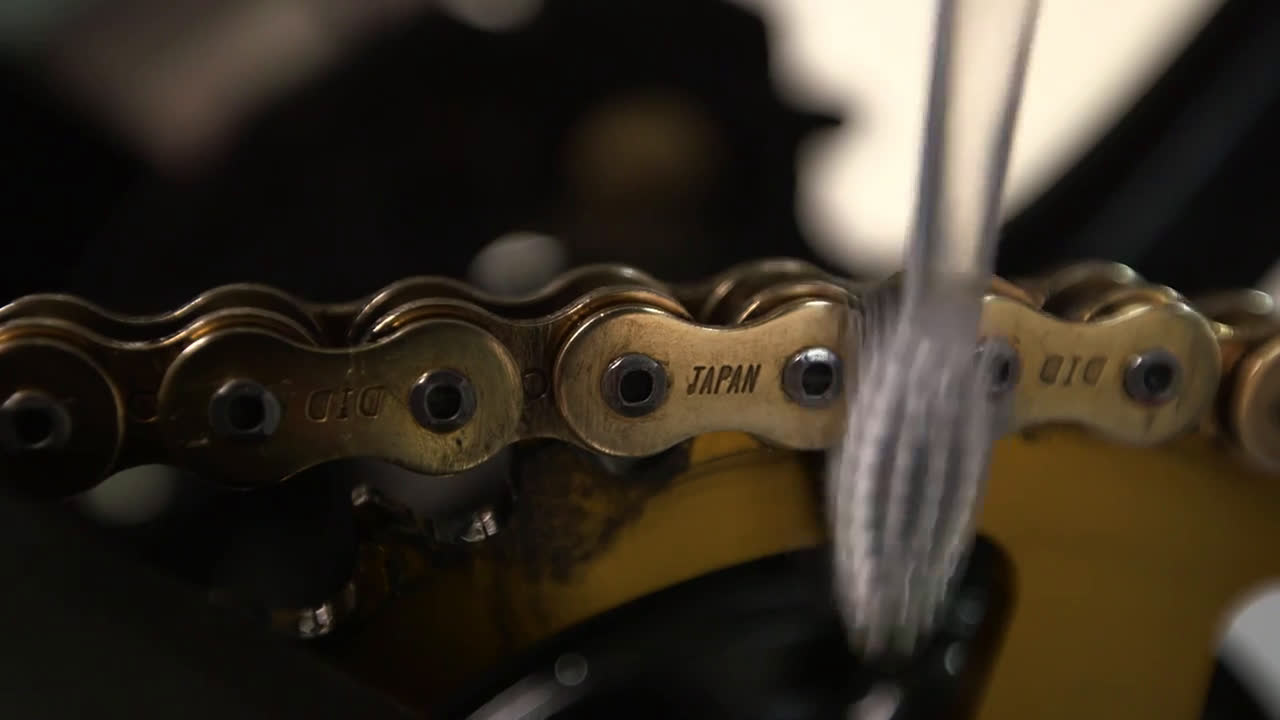 Limpia Cadenas para moto WD-40 Trailer