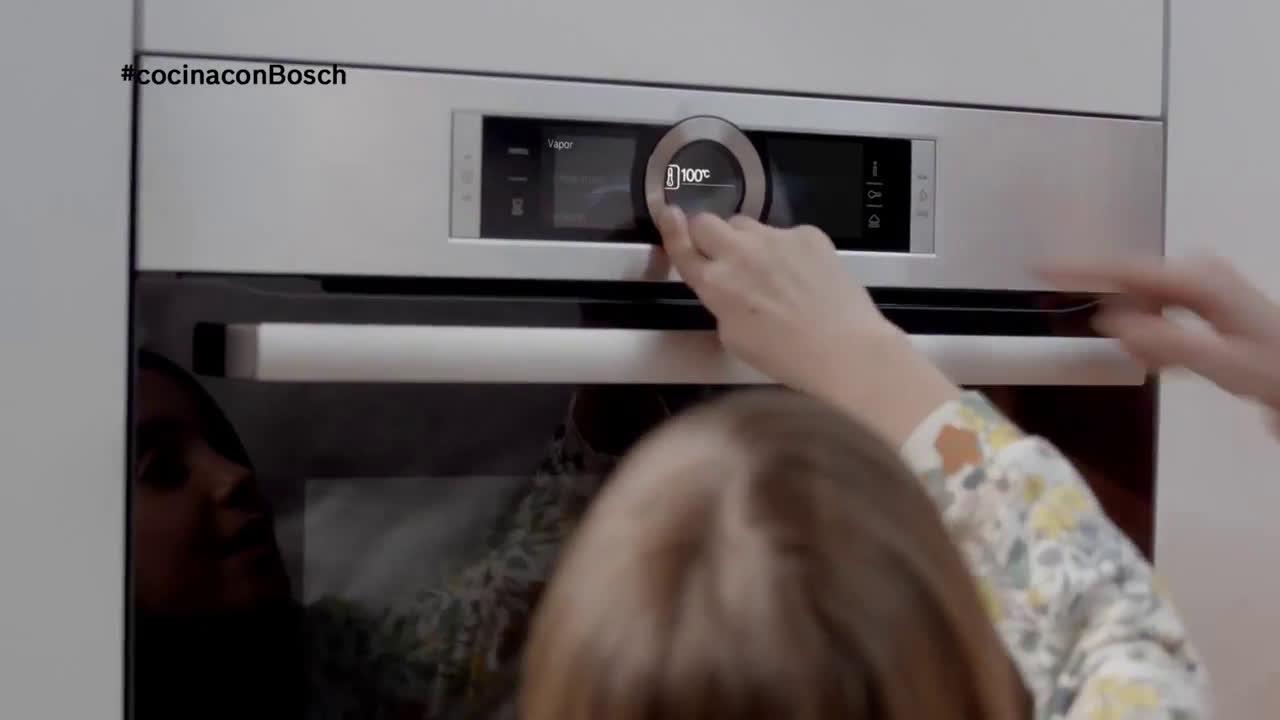 Bosch Hornos Serie 8 de Bosch con vapor anuncio