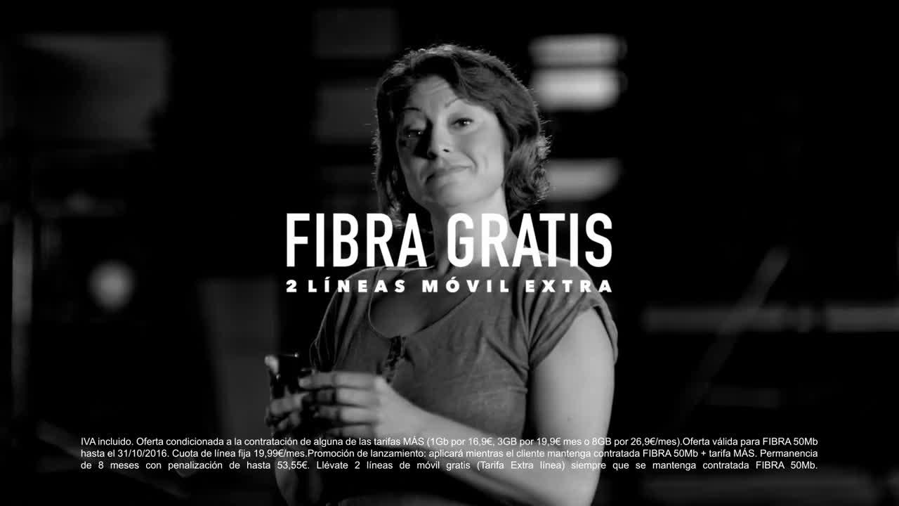 MÁSMÓVIL FIBRA/ADSL GRATIS anuncio