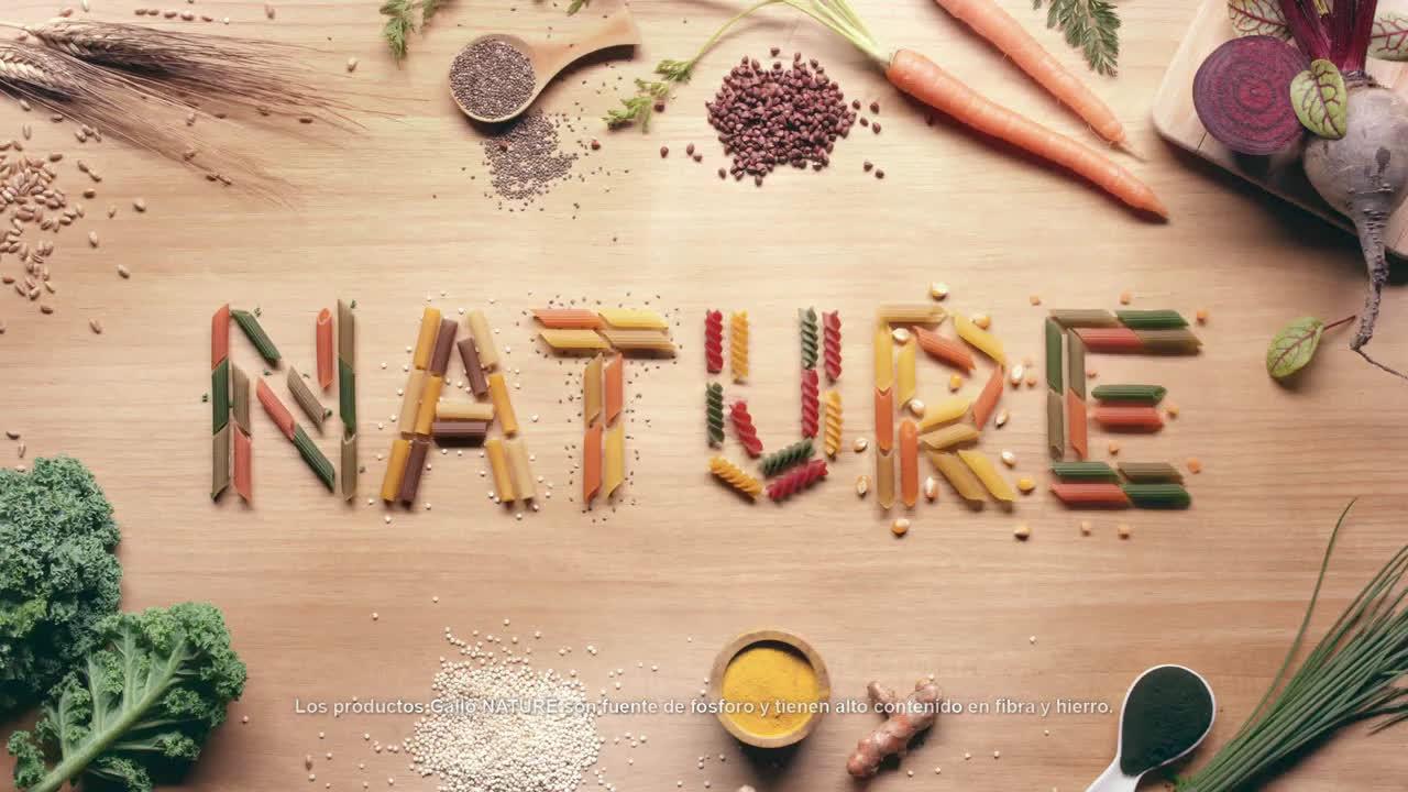 Pastas Gallo NATURE Multiingredientes - Spot 20'' anuncio