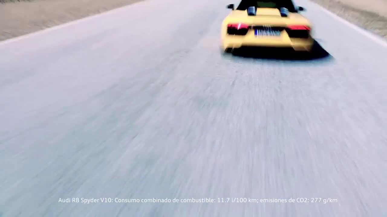 R8 Spyder  Trailer