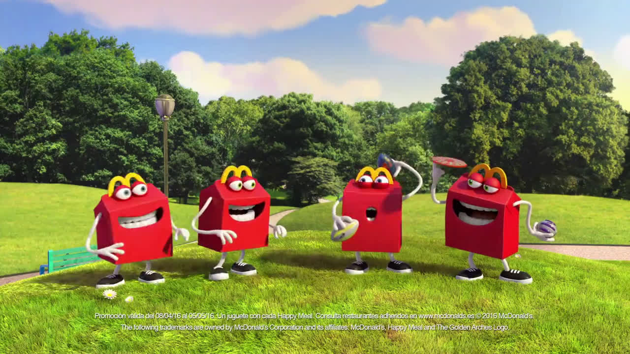 McDonald ¡Sal a jugar con Nerf!  anuncio