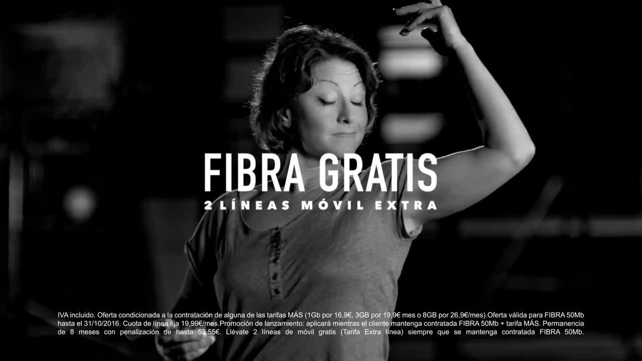 MÁSMÓVIL FIBRA/ADSL GRATIS con MÁSMÓVIL CON WUAKI.TV anuncio