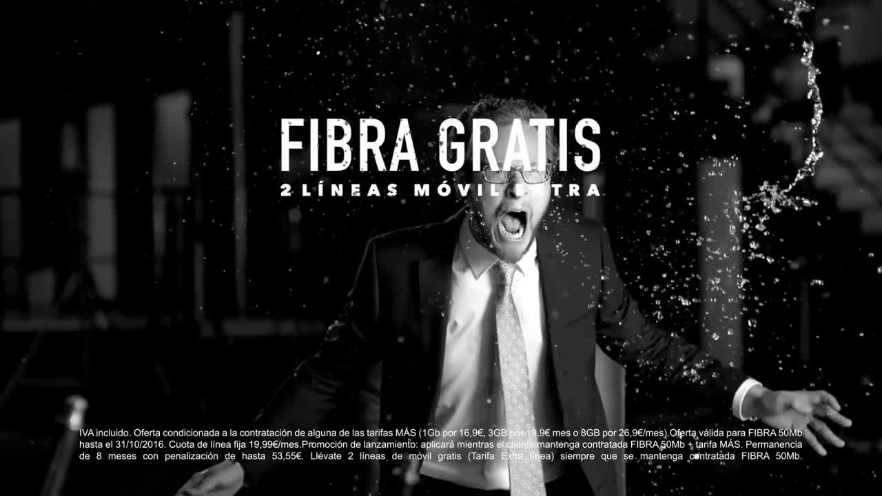 MÁSMÓVIL ADSL/FIBRA GRATIS CON WUAKI.TV anuncio