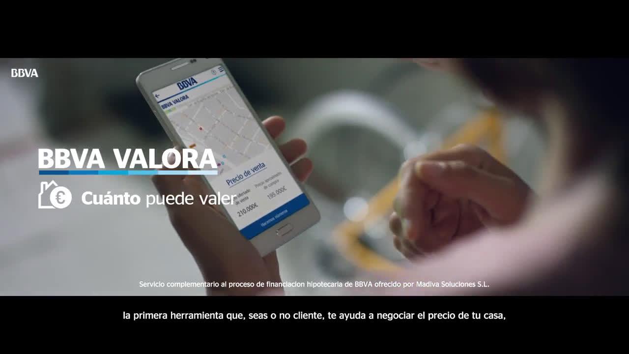 BBVA VALORA: Conoce el valor de mercado de tu futura casa anuncio