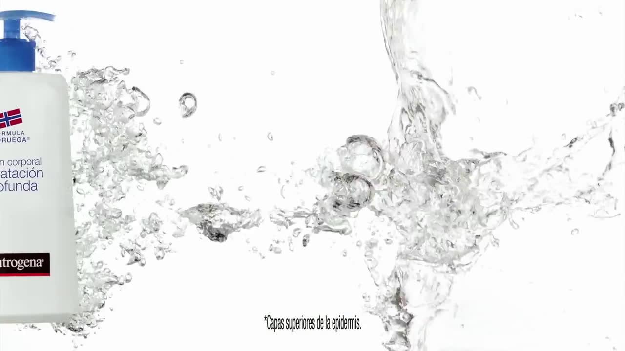 Neutrogena Jennifer Garner | Loción Hidratación Profunda anuncio