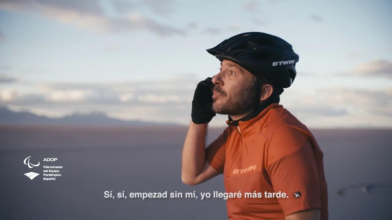 Decathlon BTT B'TWIN Rockrider 340 I #QueNadaTeFrene anuncio
