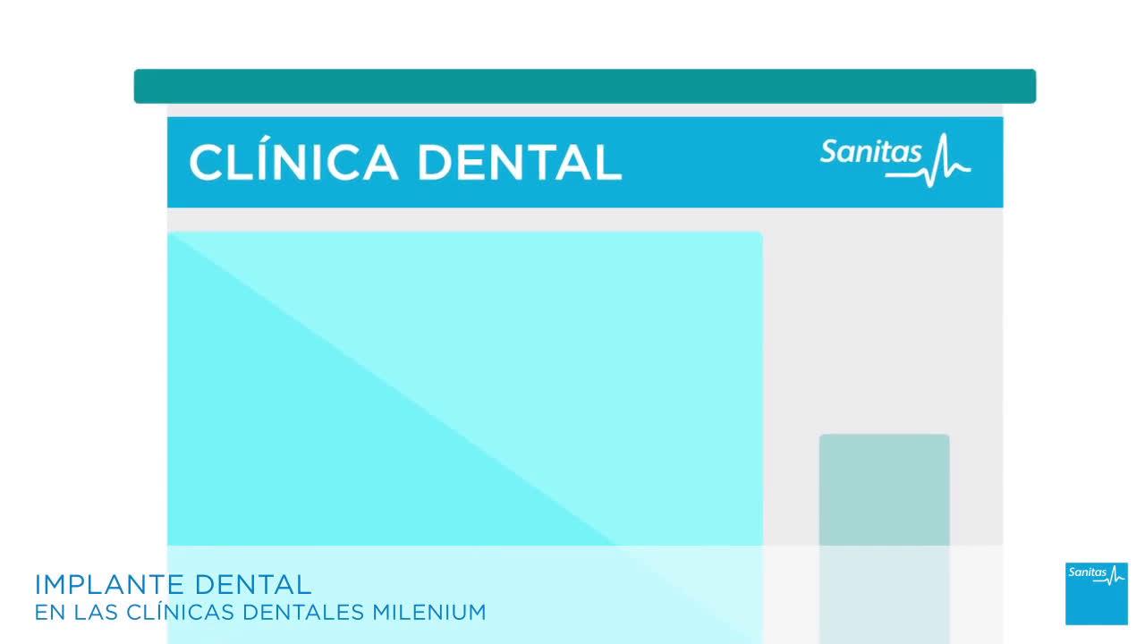 Sanitas Implante Dental  anuncio
