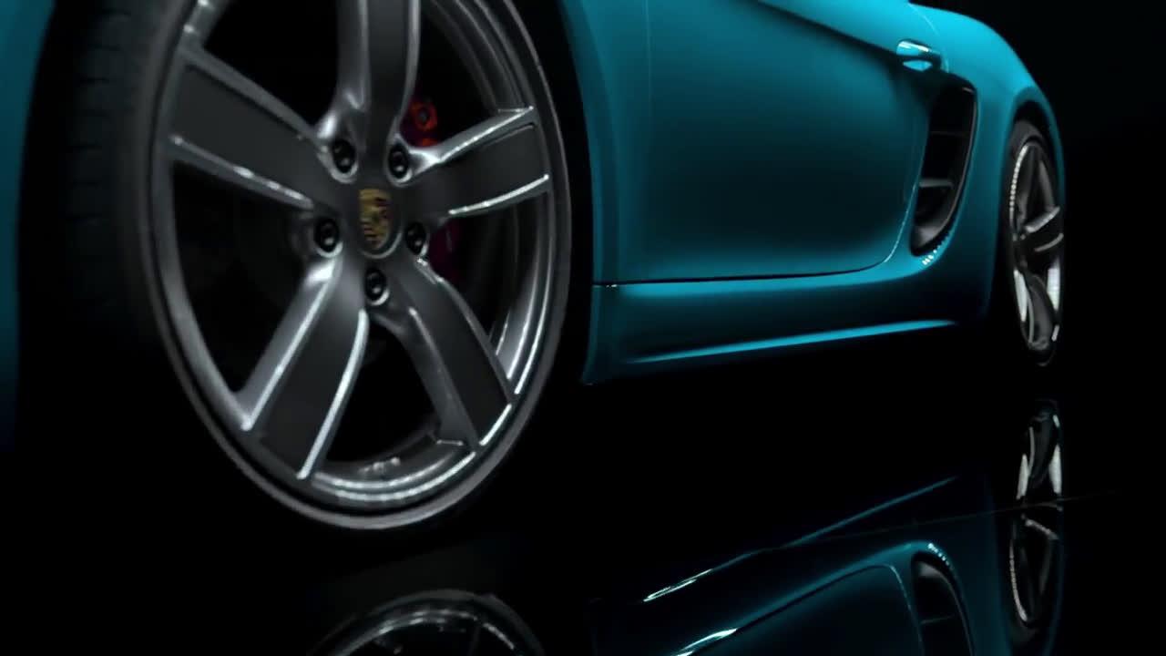 El diseño del nuevo Porsche 718 Cayman  Trailer