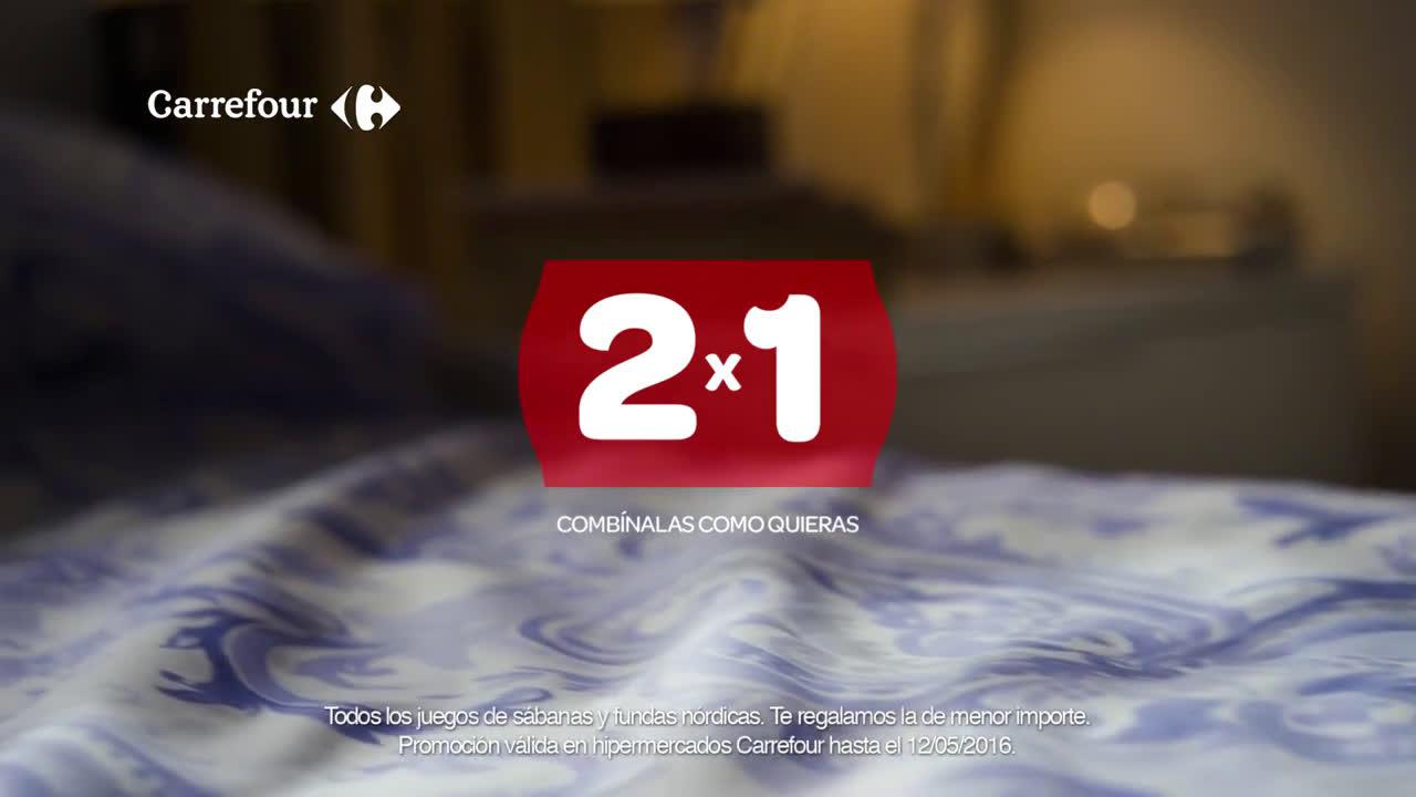 Video carrefour 2x1 en s banas y fundas n rdicas hasta el - Fundas nordicas en carrefour 2017 ...