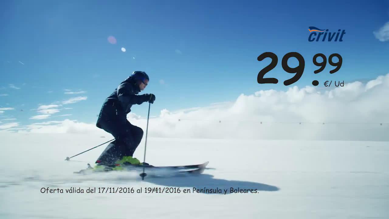 LIDL Siente La Nieve anuncio