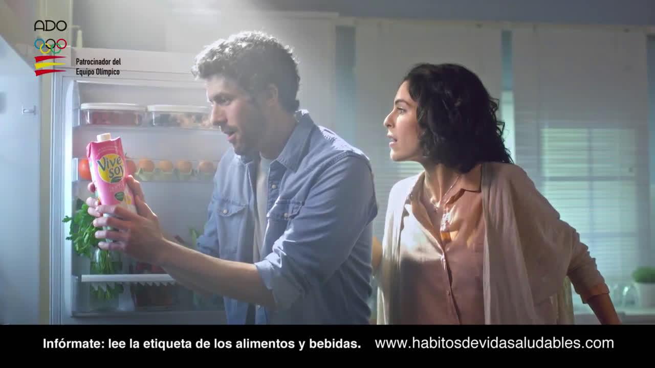 Vive Soy Ligera bebidas vegetales anuncio