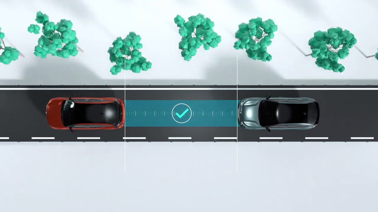 Nuevo Citroën ë-C4 LTC - HighWay Driver Assist Trailer