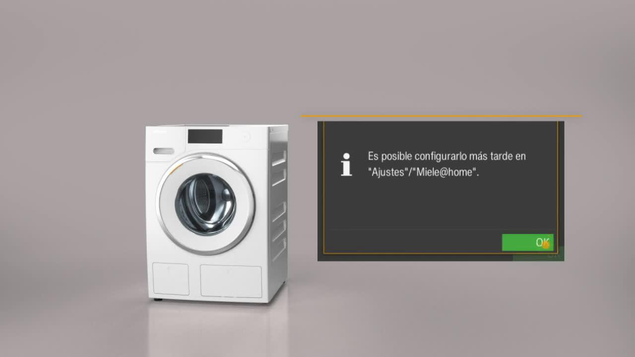 Miele Cómo instalar la lavadora WI de Miele anuncio