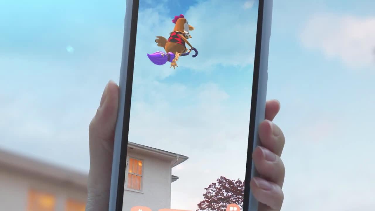 Nintendo ¡Campistas en el mundo real! – Animal Crossing: Pocket Camp (Dispositivos inteligentes) anuncio