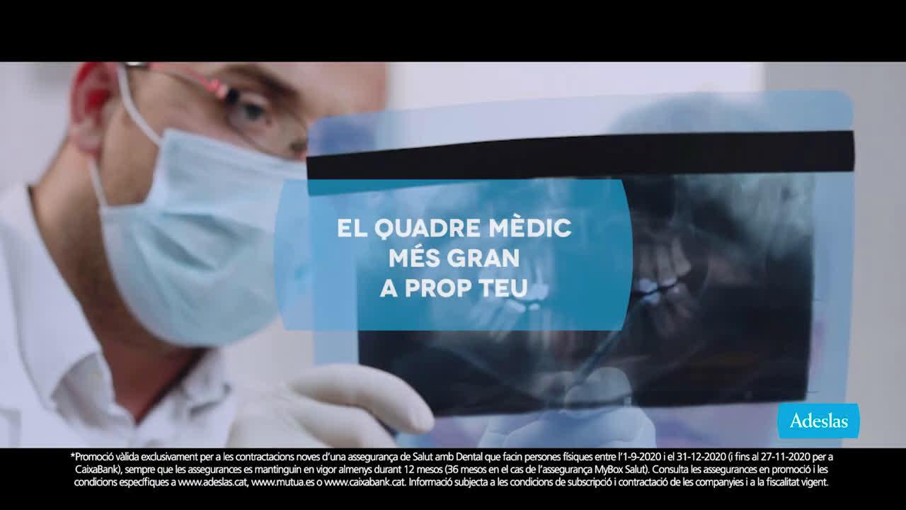 SegurCaixa Adeslas Adeslas Toda una vida 20'' Cuadro medico - catalán anuncio