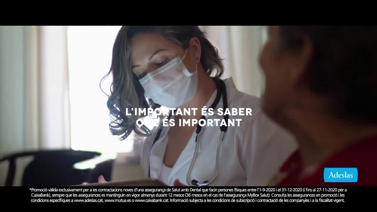 SegurCaixa Adeslas Adeslas Toda una vida 10'' - catalán anuncio