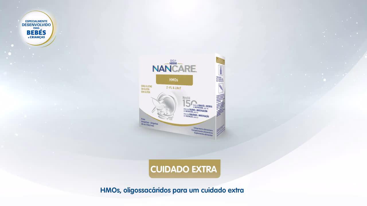 Nestlé Suplementos Infantis   NANCARE anuncio
