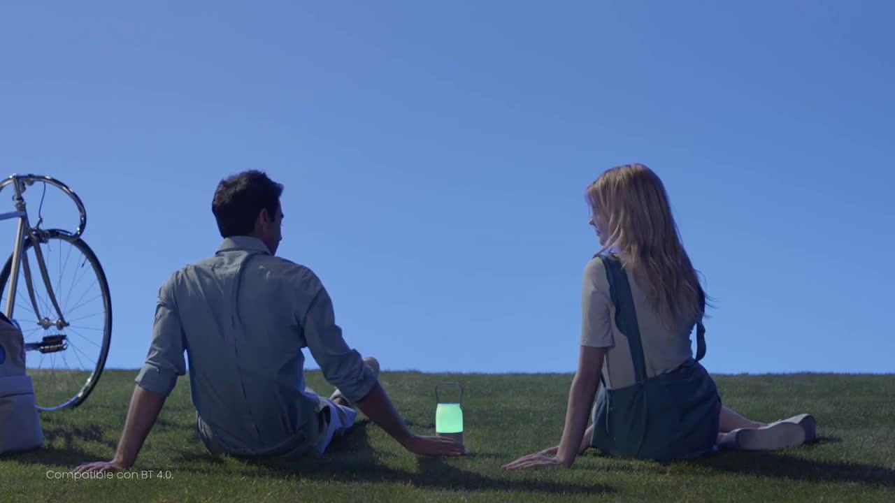 Samsung Bottle & Tray - Súper Altavoz y Cargador - Living Series anuncio