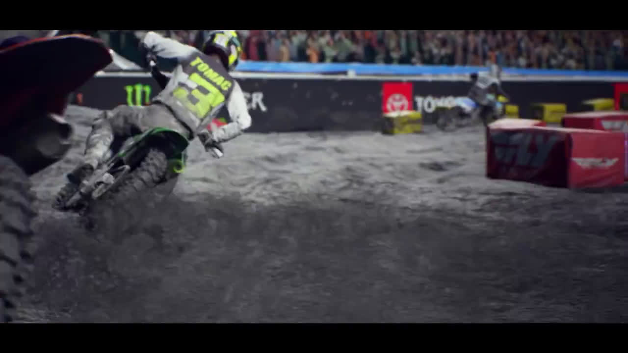 PlayStation Monster Energy Supercross 4 - Kick Off Trailer | PS5, PS4 anuncio