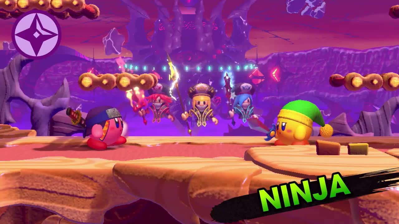 Nintendo ¡He aquí Meta Knight! Kirby Fighters 2 (Nintendo Switch) anuncio