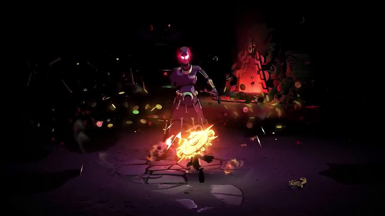 PlayStation Curse of the Dead Gods - Release Date Reveal Trailer | PS4 anuncio