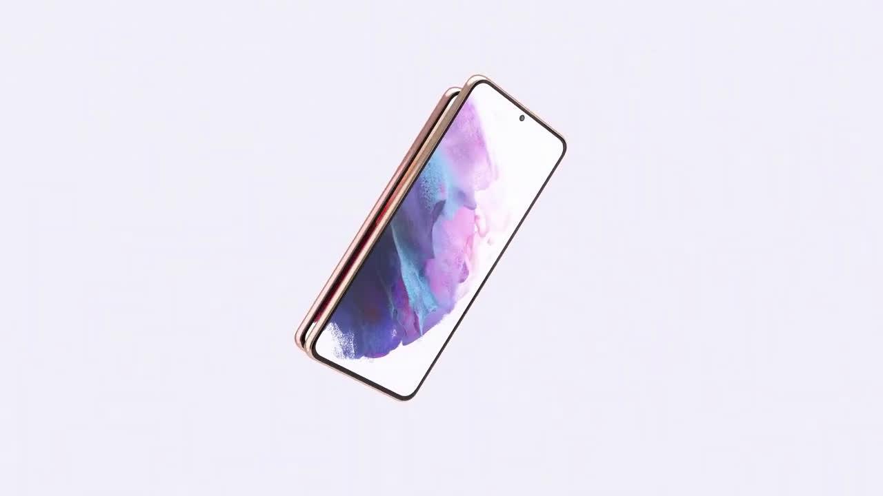 Samsung Nuevos GalaxyS21 y S21 Plus 5G | Hecho para atraer todas las miradas anuncio
