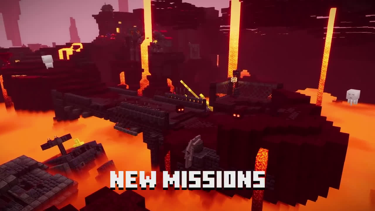 Xbox Minecraft Dungeons: Flames of the Nether – Official Launch Trailer anuncio