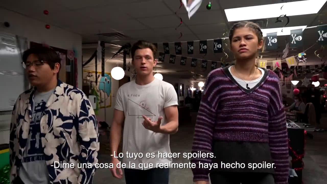 Sony Pictures Entertainment SPIDER-MAN: NO WAY HOME. Próximamente en cines. anuncio