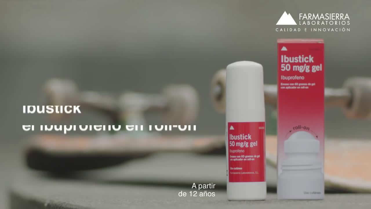 Ibustick skater - El patinero anuncio