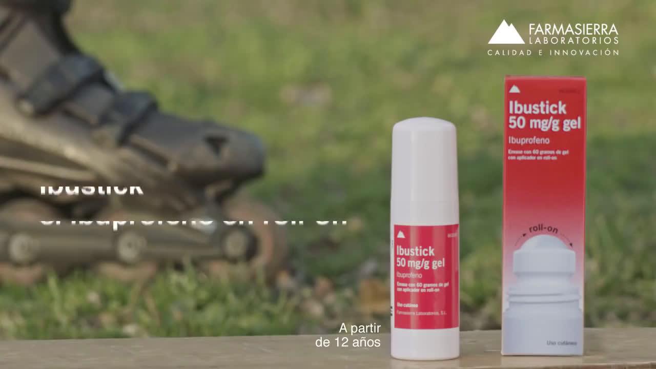 Ibustick roller y el perro anuncio
