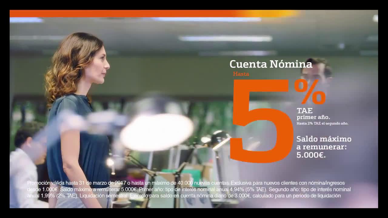 Bankinter ¡Hoy, súbete el sueldo! - Cuenta Nómina anuncio