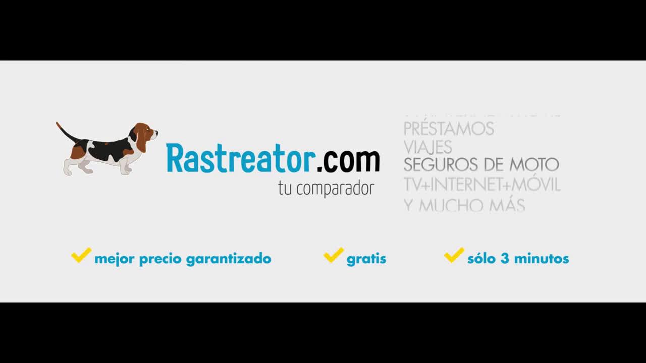 Rastreator Anuncio TV - Comparar seguros de Moto - Guau anuncio