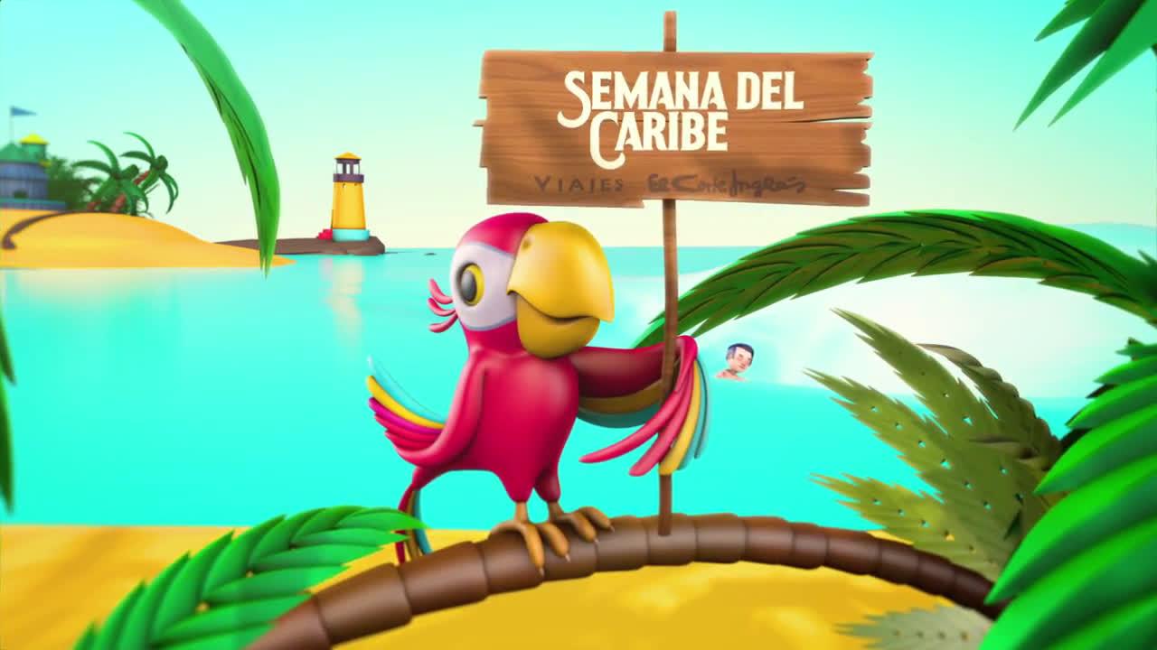 Video viajes el corte ingl s semana del caribe anuncio - Semana del electrodomestico el corte ingles ...