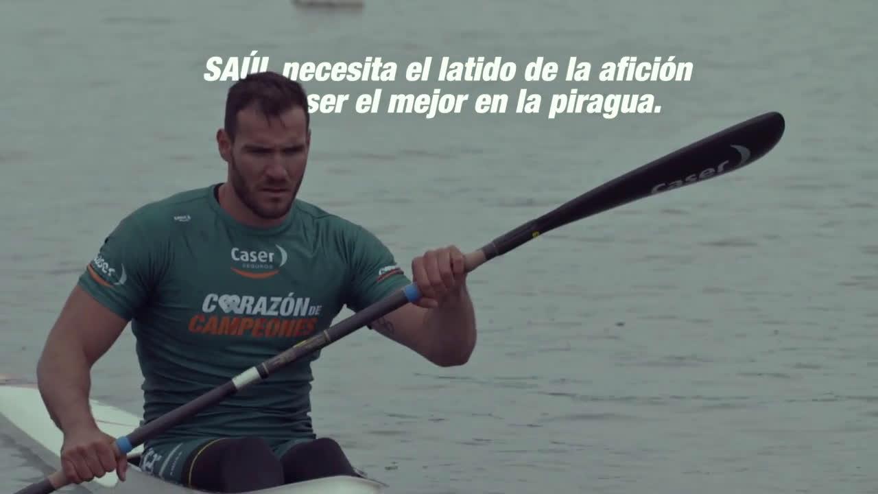 Caser Seguros Corazón de Campeones Saúl Craviotto anuncio
